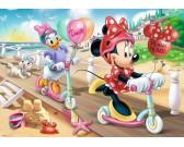 Puzzle Minnie na koloběžce - DĚTSKÉ PUZZLE