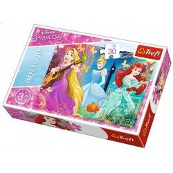 Puzzle Tři princezny - DĚTSKÉ PUZZLE