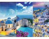 Puzzle Dovolená v Řecku