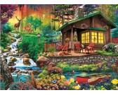 Puzzle Lesní chata