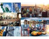 Puzzle New York - koláž