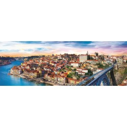 Puzzle Porto, Portugalsko - PANORAMATICKÉ PUZZLE