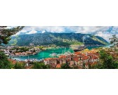Puzzle Kotor, Černá Hora - PANORAMATICKÉ PUZZLE