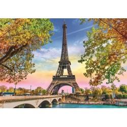 Puzzle Romantická Paříž