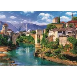 Puzzle Mostar, Bosna a Hercegovina